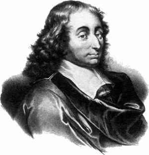 How did Blaise Pascal contribute to math?